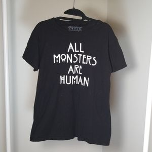 """All Monsters Are Human"" T-shirt"